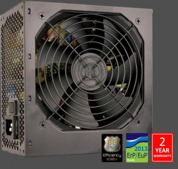 Fortron FSP 600-50ARN 88+, Aktiv. PFC, 12cm fan