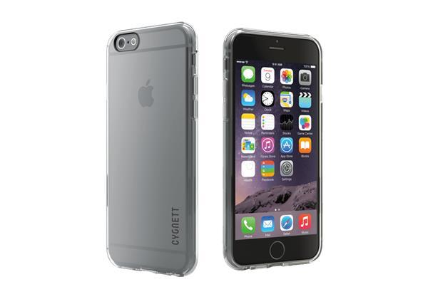 Cygnett, obal AeroShield Clear pre iPhone 6/6S Plus, priehľadný