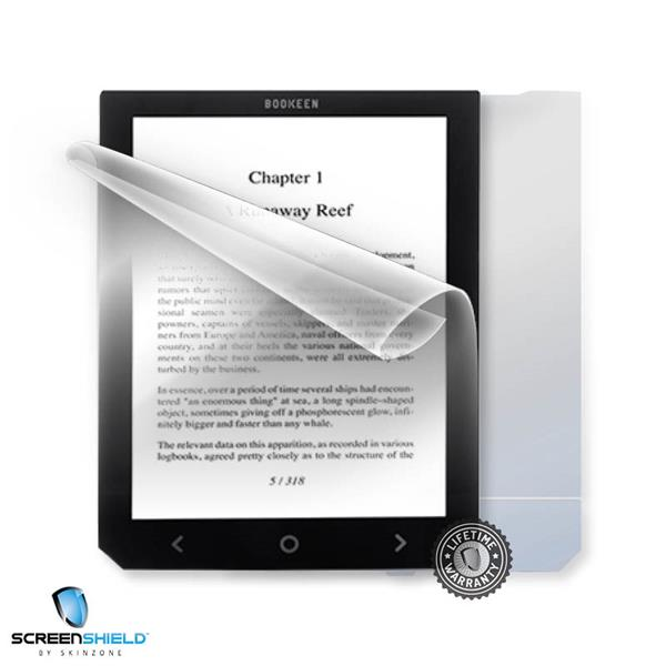 ScreenShield Cybook Ocean FrontLight - Film for display + body protection