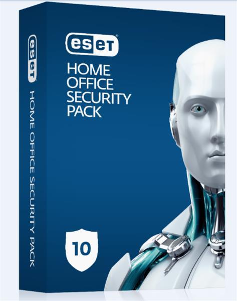 Predĺženie ESET Home Office Security Pack 10PC / 1 rok zľava 50% (EDU, ZDR, NO.. )