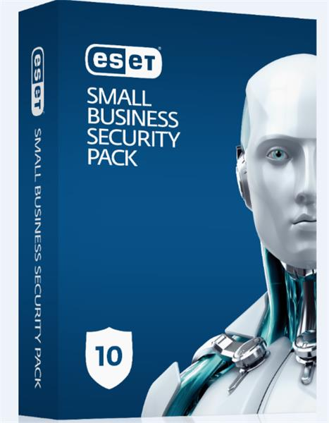 Predĺženie ESET Small Business Security Pack 10PC / 1 rok zľava 50% (EDU, ZDR, NO.. )