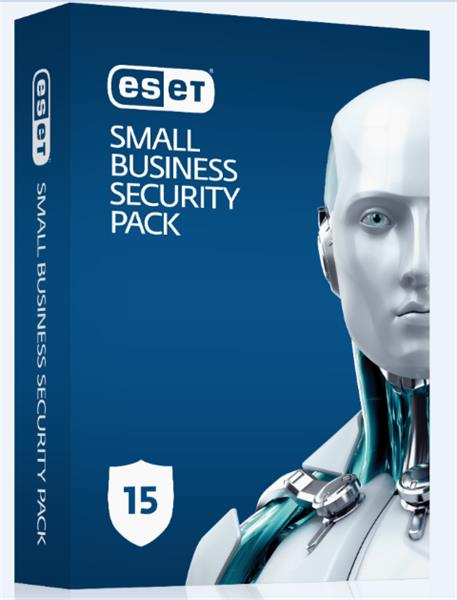 Predĺženie ESET Small Business Security Pack 15PC / 1 rok zľava 50% (EDU, ZDR, NO.. )