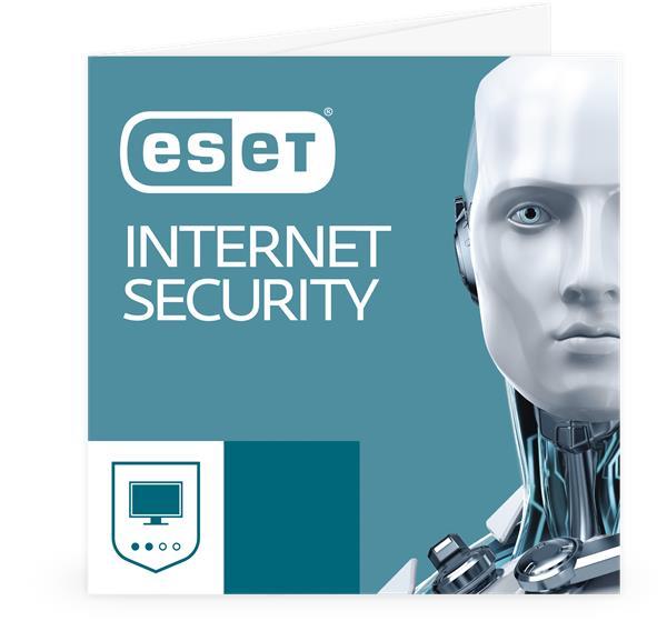 Predĺženie ESET Internet Security 2PC / 1 rok zľava 20% (GOV)