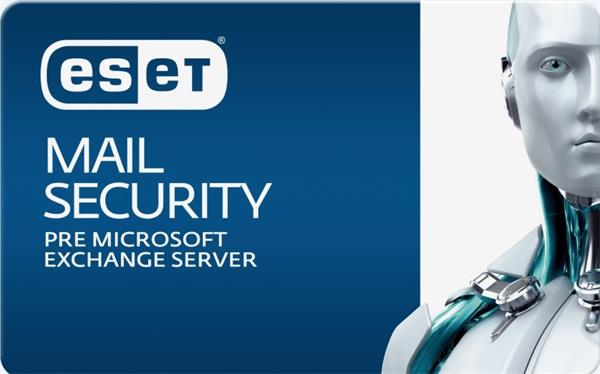 Predĺženie ESET Mail Security for Microsoft Exchange Server 11PC-25PC / 2 roky zľava 20% (GOV)