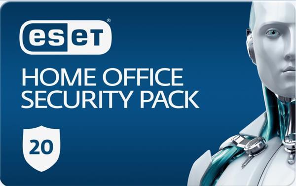 Predĺženie ESET Home Office Security Pack 20PC / 1 rok zľava 20% (GOV)
