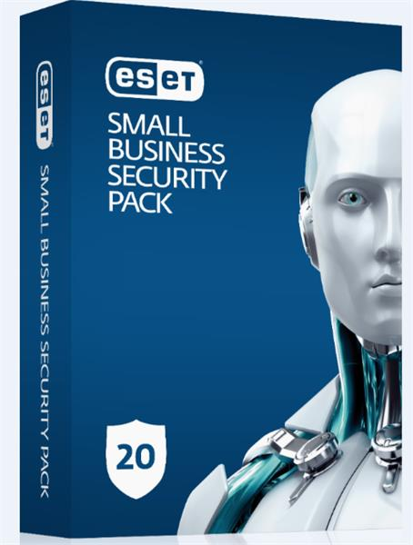 Predĺženie ESET Small Business Security Pack 20PC / 1 rok zľava 20% (GOV)