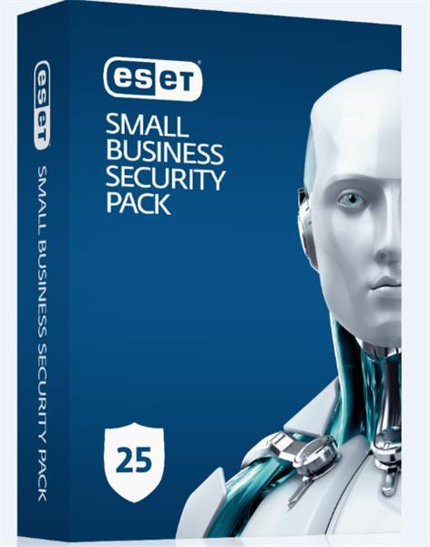 Predĺženie ESET Small Business Security Pack 25PC / 1 rok zľava 20% (GOV)
