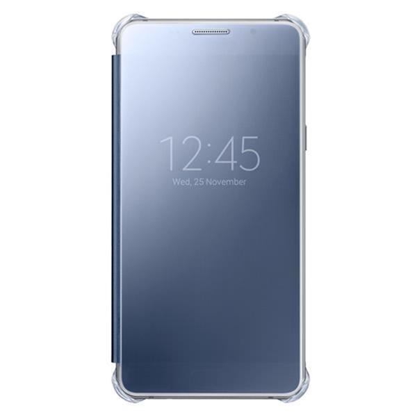 Samsung flip Clear View pre Galaxy A5 2016, Black