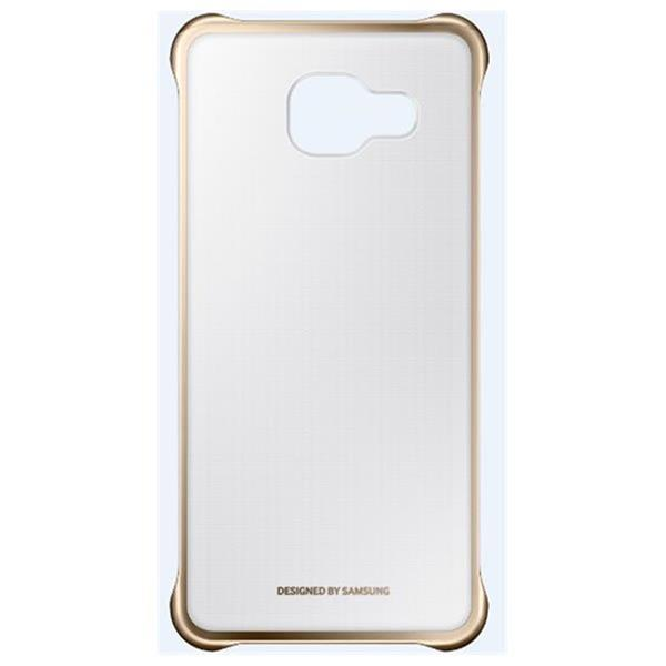 Samsung Clear Cover pre Galaxy A5 2016, Gold
