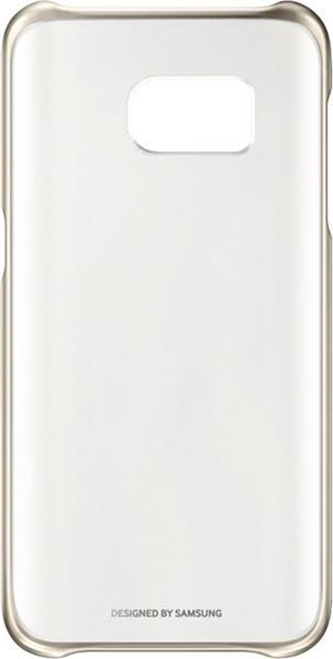 Samsung Clear obal pre Galaxy S7 (G930), zlatá
