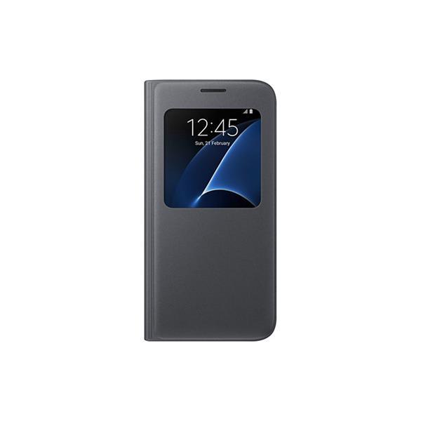 Samsung S View obal pre Galaxy S7 (G930), čierna