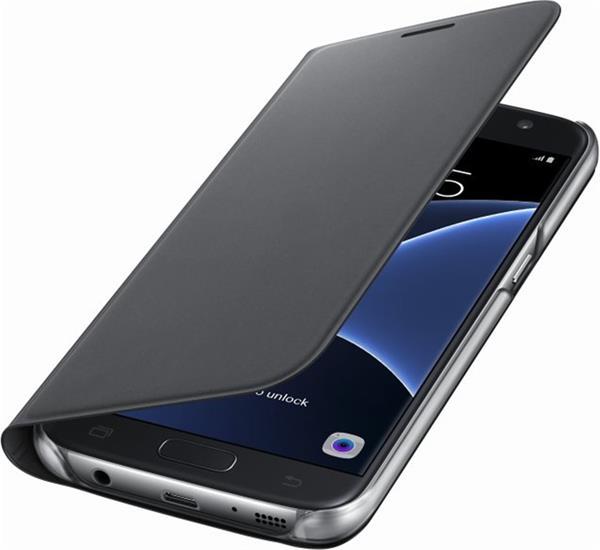 Samsung Flip Wallet pre S7 (G930), čierna