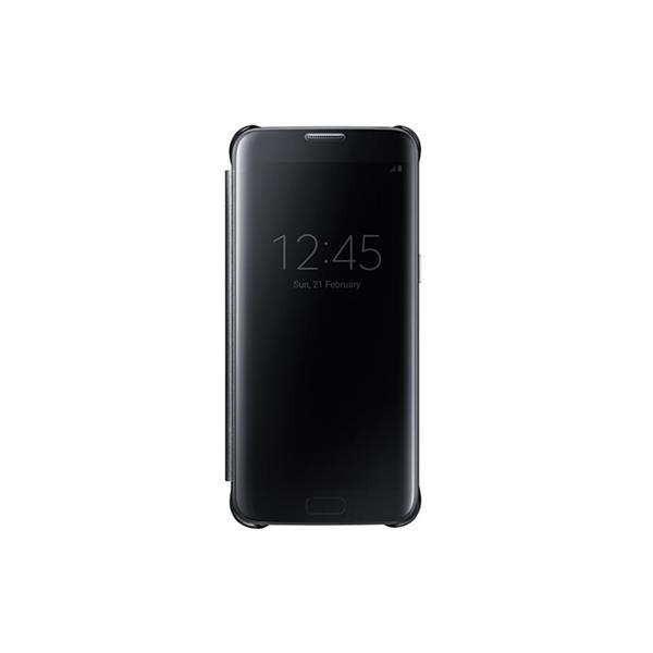 Samsung flipové púzdro Clear View pre Samsung Galaxy S7 edge (G935), čierna