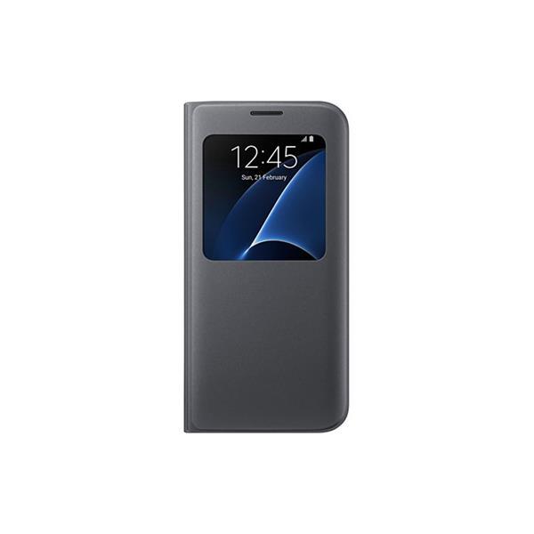 Samsung S View obal pre Galaxy S7 edge (G935), čierna