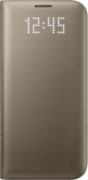 Samsung LED View Cover pre S7 edge (G935), zlatá