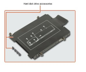 HDD HARDWARE KIT EB800