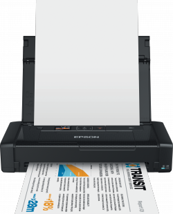 Epson WorkForce WF-100W, A4, USB, WiFi - prenosna