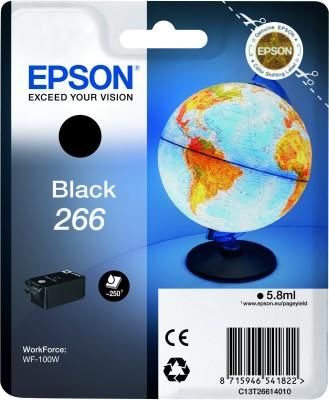 Epson atrament WF-100W black