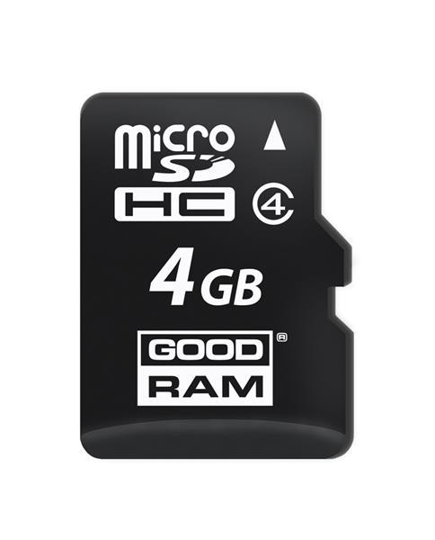 4 GB . microSDHC karta GOODRAM Class 4