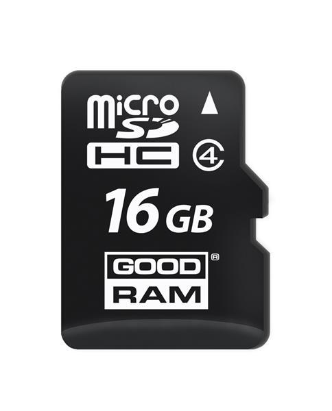 16 GB . microSDHC karta GOODRAM Class 4
