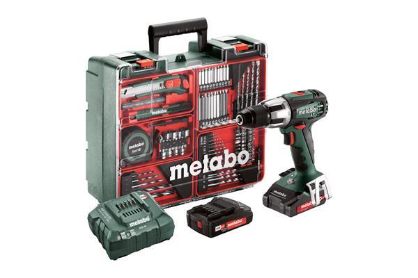 Metabo SB 18 LT Set Mobilná dielňa
