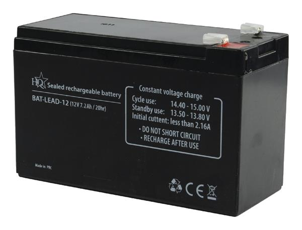 König Olovo-kyselinová batéria, 12 V, 7,2 Ah