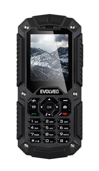 EVOLVEO StrongPhone X2, vodotesný odolný Dual SIM telefón