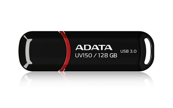 128 GB . USB kľúč . ADATA DashDrive™ Value UV150 USB 3.0, čierny