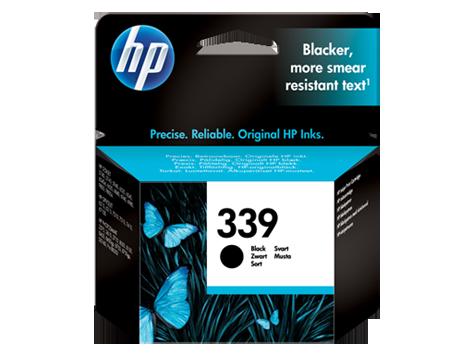 HP No. 339 Black Inkjet Print Cartridge (21ml)