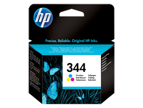 HP No. 344 Tri-colour Inkjet Print Cartridge (14ml)