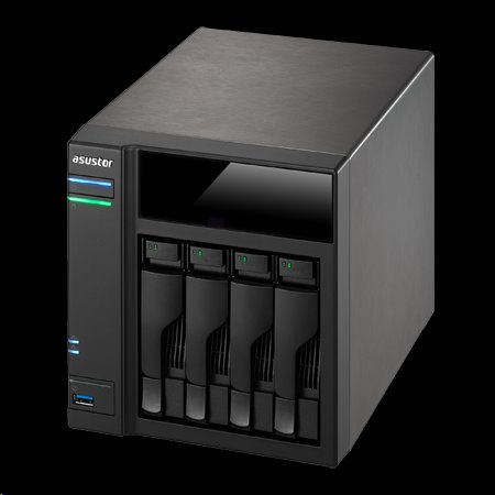 Asustor™ AS6104T 4x HDD NAS HDMI