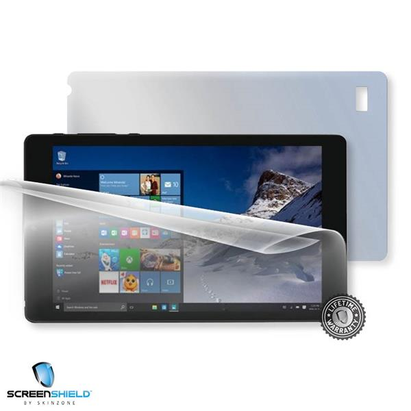 ScreenShield UMAX VisionBook 8Wi Plus - Film for display + body protection