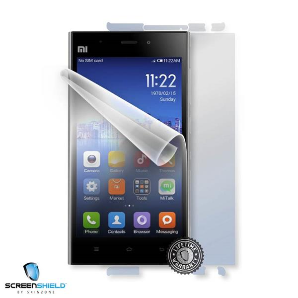 ScreenShield Xiaomi Mi3 - Film for display + body protection