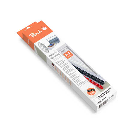 Peach Binding Combs 21 Rg A4 10mm, blue