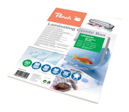 Peach Laminating Combi Box 100