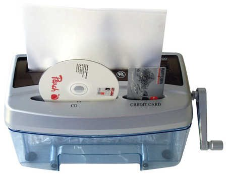 Peach Cross Cut Hand Shredder PS300-21
