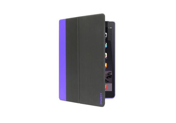 Cygnett TekShell, štíhly obal/stojan pre iPad Pro, 12,9´´, čierno/fialový
