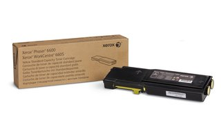 Xerox YELLOW STANDARD CAPACITY TONER CARTRIDGE, DMO - Phaser 6600