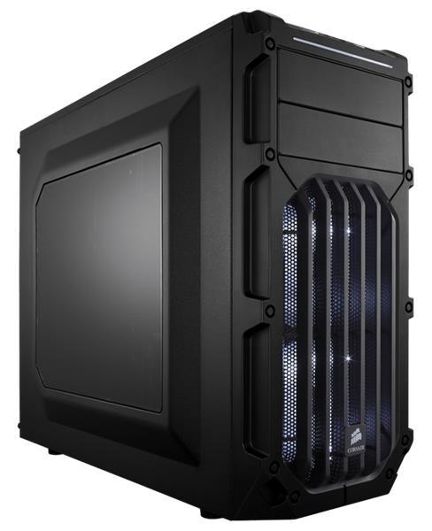 Corsair PC skriňa Carbide Series™ SPEC-03 WHITE LED Mid-Tower, ventilátor 120mm