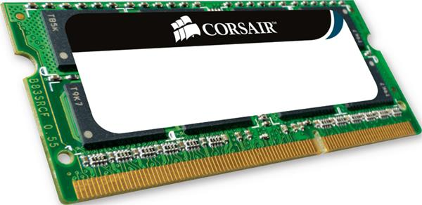 Corsair 2GB 1066MHz DDR3 SODIMM 1.5V