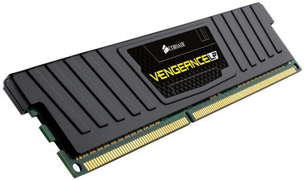 Corsair Vengeance 4GB (Kit 2 x 2GB) Low Prof. 1600MHz DDR3, CL9 1.5V, chladič, XMP