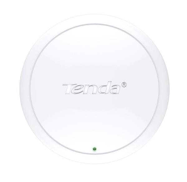 Tenda i12 Wireless-N Access Point 300Mbps, 1xGb LAN, POE, 2x2dBi omni internal ant.