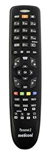 Meliconi GUMBODY PERSONAL 1 -- SAMSUNG Replacement Remote Control for SAMSUNG TVs