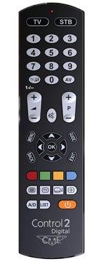 Meliconi CONTROL 2 DIGITAL, TV univerzálny dialkový ovládač