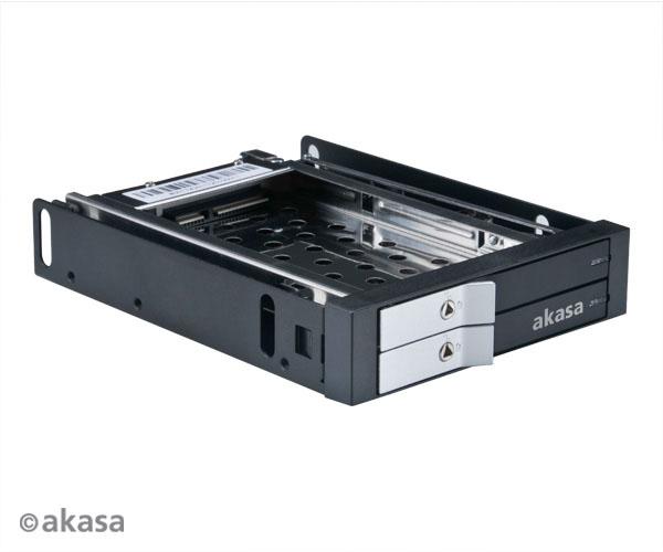 AKASA AK-IEN-03 Lokstor M21 slot mobile rack for 2.5
