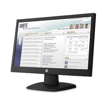 HP V197, 18.5, TN/LED, 1366x768 HD, 600:1, 5ms, 250cd, VGA, DVI-D, 1y
