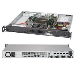 Supermicro Server SYS-5019S-ML mini1U server 1x LGA1151, iC236, 4x DDR4 ECC, 2x 3.5