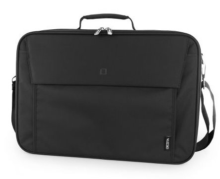 DICOTA_Multi Plus BASE 15-17.3, Lightweight notebook case with protective function and document compartment black