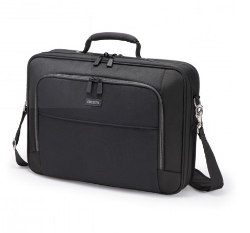 DICOTA_Multi ECO 14-15.6, Eco - friendly notebook case with protection and comfort black