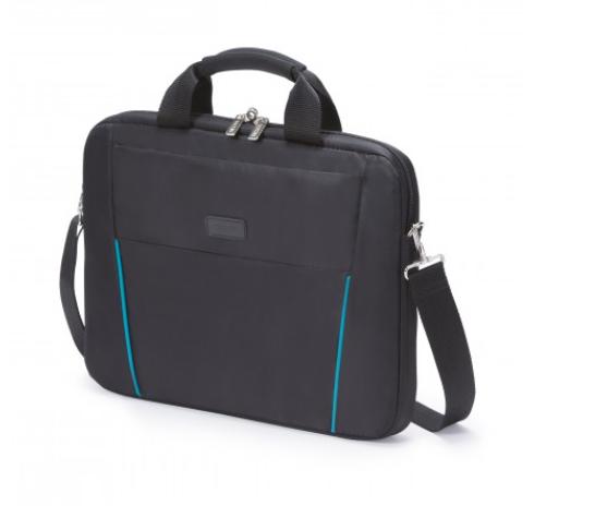 DICOTA_Slim Case BASE 14-15.6 black/blue